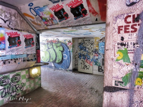 Pedestrian Tunnels - Malta - by Anika Mikkelson - Miss Maps - www.MissMaps.com