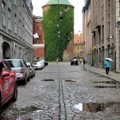 Powder Tower - Riga Latvia - by Anika Mikkelson - Miss Maps - www.MissMaps.com