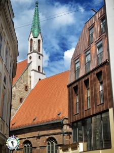 Riga is packed with churches - Riga Latvia - by Anika Mikkelson - Miss Maps - www.MissMaps.com