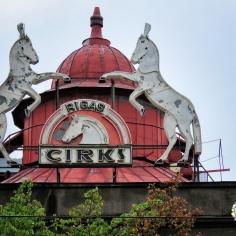Rigas Cirks Sign - Riga Latvia - by Anika Mikkelson - Miss Maps - www.MissMaps.com