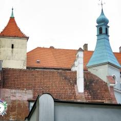 Roofs of Riga - Riga Latvia - by Anika Mikkelson - Miss Maps - www.MissMaps.com