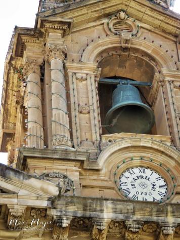 Saint Publius Church - Bombed on April 28 1942 - Malta - by Anika Mikkelson - Miss Maps - www.MissMaps.com