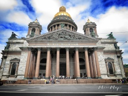 St Isaac's Cathedral - St Petersburg Russia - by Anika Mikkelson - Miss Maps - www.MissMaps.com copy