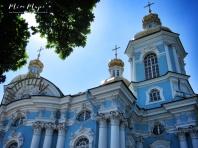 St Nicholas Cathedral - St Petersburg Russia - by Anika Mikkelson - Miss Maps - www.MissMaps.com