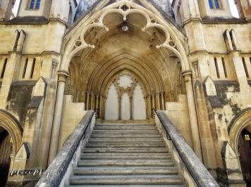 Steps of Robert Sammut Hall - Malta - by Anika Mikkelson - Miss Maps - www.MissMaps.com