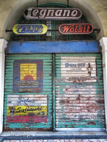 Streets of Malta - Legnano Door - Malta - by Anika Mikkelson - Miss Maps - www.MissMaps.com