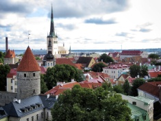Tallinn Leading Up to the Baltic Sea - Tallinn Estonia - by Anika Mikkelson - Miss Maps - www.MissMaps.com