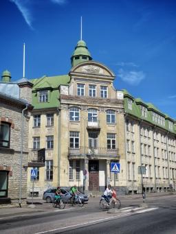 Team Green Building - Tallinn Estonia - by Anika Mikkelson - Miss Maps - www.MissMaps.com