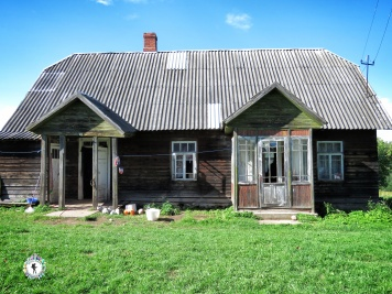 The family home - South Estonia - by Anika Mikkelson - Miss Maps - www.MissMaps.com