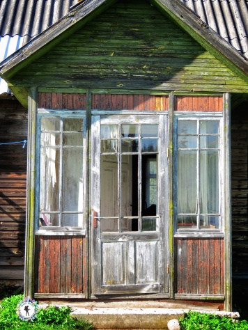 The front porch of the family home - look through all the details - South Estonia - by Anika Mikkelson - Miss Maps - www.MissMaps.com