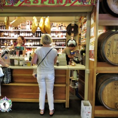 The market even has wine sold from the barrel - Riga Latvia - by Anika Mikkelson - Miss Maps - www.MissMaps.com