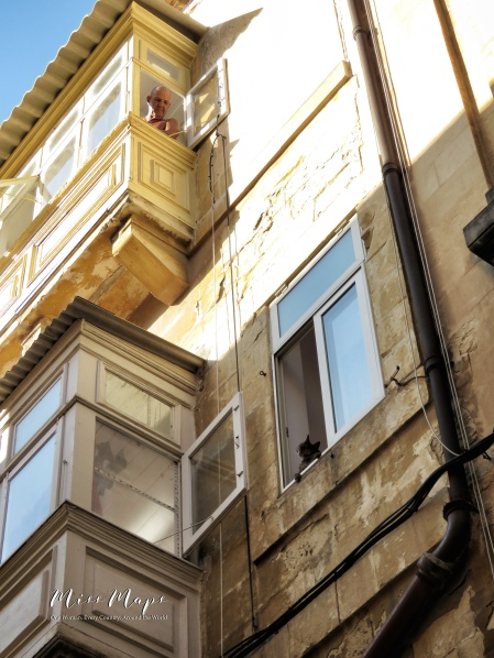 The masked man unmasked - Malta - by Anika Mikkelson - Miss Maps - www.MissMaps.com