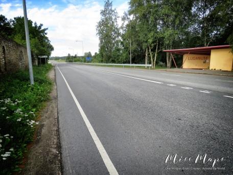 The Road to Luganuse - Northern Estonia - by Anika Mikkelson - Miss Maps - www.MissMaps.com