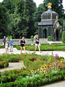 The Royal Gardens of Lubomirski Palace - Bialystok Poland - by Anika Mikkelson - Miss Maps - www.MissMaps.com