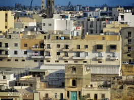 The view for miles - Malta - by Anika Mikkelson - Miss Maps - www.MissMaps.com