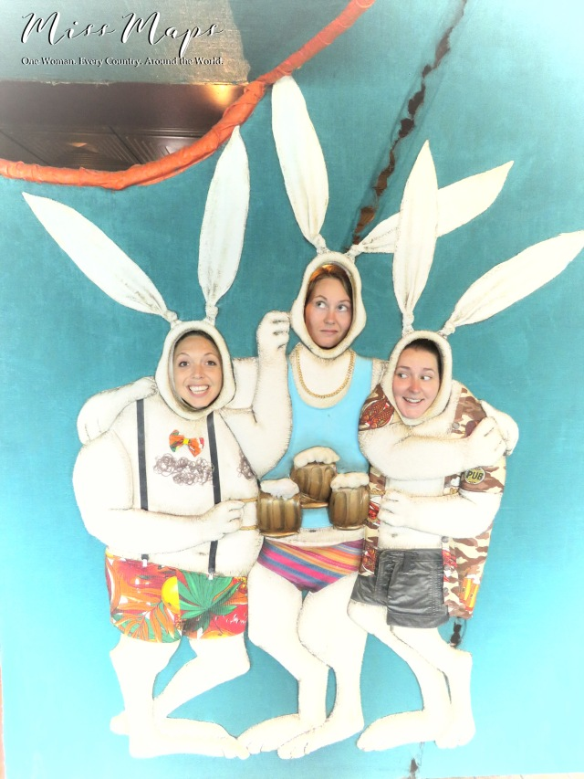 Three Little Bunnies - Cruise Helsinki to St Petersburg - by Anika Mikkelson - Miss Maps - www.MissMaps.com