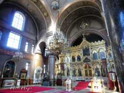 Uspenski Cathedral Interior - Helsinki Finland - by Anika Mikkelson - Miss Maps - www.MissMaps.com