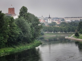 Vilnius's Old Town and Fort - - Vilnius Lithuania - by Anika Mikkelson - Miss Maps - www.MissMaps.com