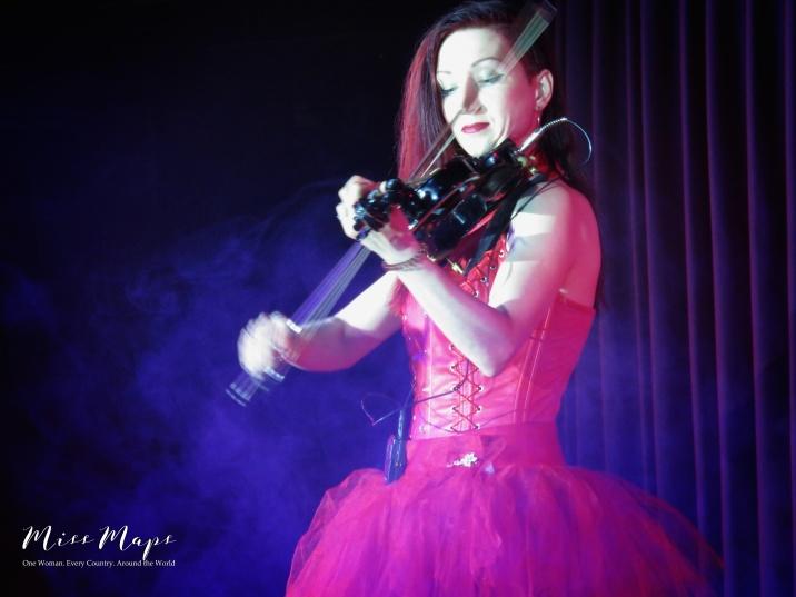 Violinst - Cruise Helsinki to St Petersburg - by Anika Mikkelson - Miss Maps - www.MissMaps.com