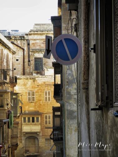 Which Direction - Mdina - Malta - by Anika Mikkelson - Miss Maps - www.MissMaps.com