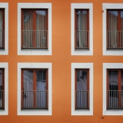 Windows of Riga Latvia 12 - by Anika Mikkelson - Miss Maps - www.MissMaps.com