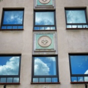 Windows of Riga Latvia 13 - by Anika Mikkelson - Miss Maps - www.MissMaps.com