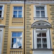 Windows of Riga Latvia 14 - by Anika Mikkelson - Miss Maps - www.MissMaps.com
