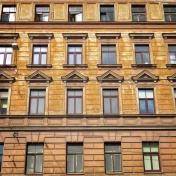 Windows of Riga Latvia 18 - by Anika Mikkelson - Miss Maps - www.MissMaps.com