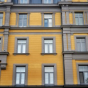 Windows of Riga Latvia 26 - by Anika Mikkelson - Miss Maps - www.MissMaps.com