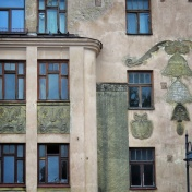Windows of Riga Latvia 29 - by Anika Mikkelson - Miss Maps - www.MissMaps.com