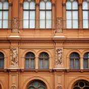 Windows of Riga Latvia 9 - by Anika Mikkelson - Miss Maps - www.MissMaps.com