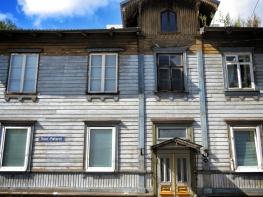 Wooden Homes - Tallin Estonia - by Anika Mikkelson - Miss Maps - www.MissMaps.com