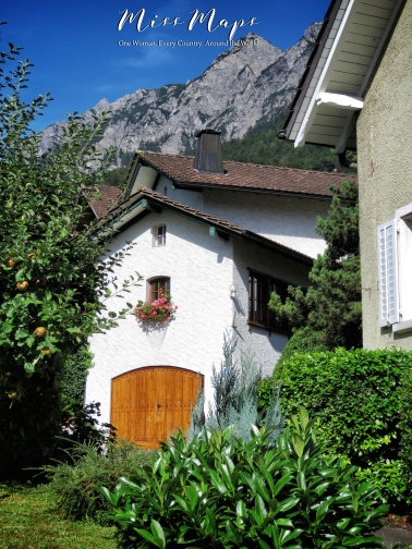 Traditional Home in Liechtenstein - The Road to Liechtenstein - by Anika Mikkelson - Miss Maps - www.MissMaps.com