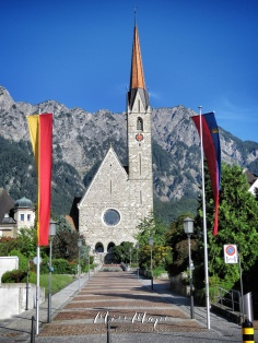 Church of Liechtenstein - The Road to Liechtenstein - by Anika Mikkelson - Miss Maps - www.MissMaps.com