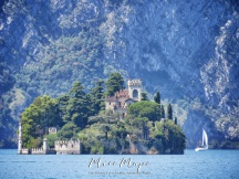 Close-Up of an Island Castle in Lago Maggiore Italy - The Road to Liechtenstein - by Anika Mikkelson - Miss Maps - www.MissMaps.com