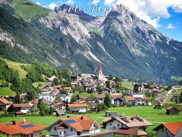 Small Town South Austria - The Road to Liechtenstein - by Anika Mikkelson - Miss Maps - www.MissMaps.com