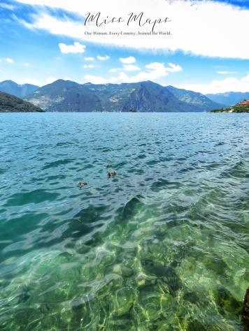 Ducks in a Lake - The Road to Liechtenstein - by Anika Mikkelson - Miss Maps - www.MissMaps.com