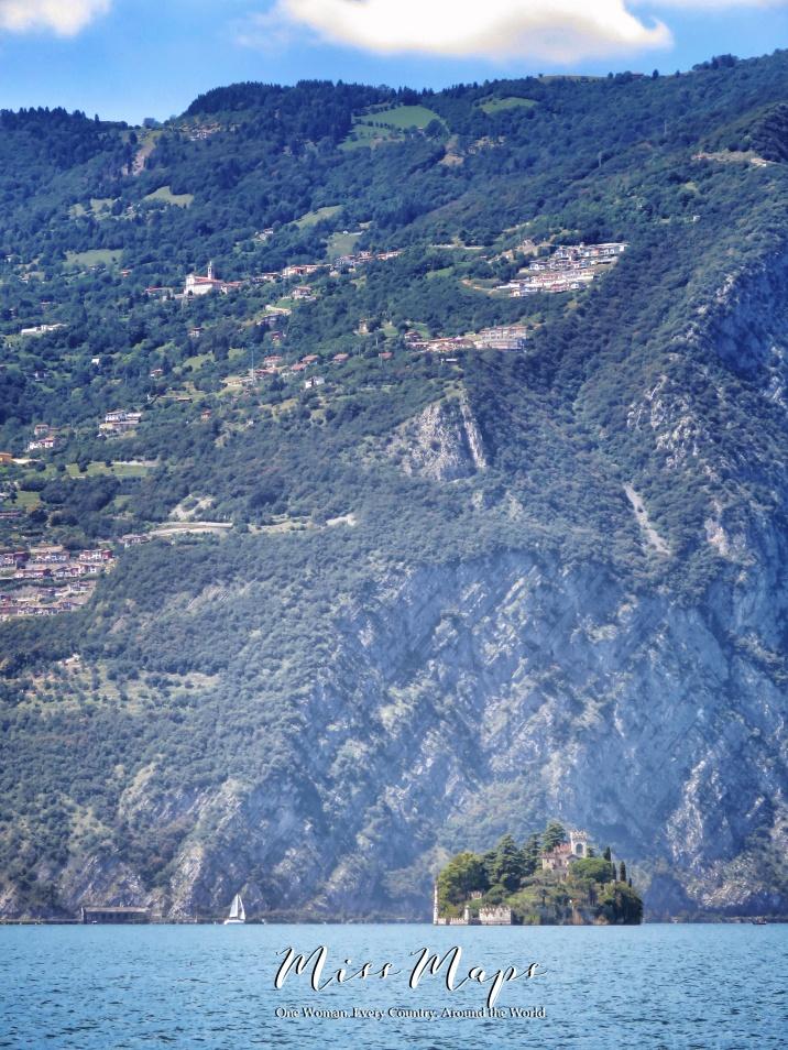 Island Castle in Lago Maggiore Italy - The Road to Liechtenstein - by Anika Mikkelson - Miss Maps - www.MissMaps.com