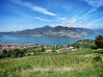 Lake Near Como Italy - The Road to Liechtenstein - by Anika Mikkelson - Miss Maps - www.MissMaps.com