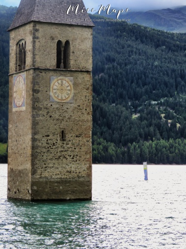 The Sunken Church of Austria - The Road to Liechtenstein - by Anika Mikkelson - Miss Maps - www.MissMaps.com