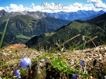 The View from Timmelsjoch Pass - The Road to Liechtenstein - by Anika Mikkelson - Miss Maps - www.MissMaps.com
