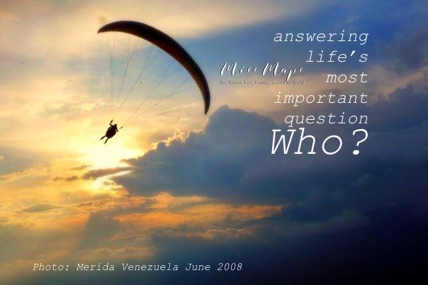 Miss Maps - Who - by Anika Mikkelson - www.MissMaps.com - Merida Venezuela