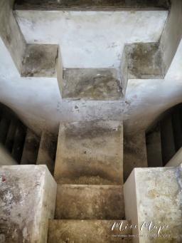 Steps Inside Wat Pho - Bangkok Thailand - by Anika Mikkelson - Miss Maps - www.MissMaps.com