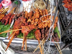 Delicious street food- Bangkok Thailand - by Anika Mikkelson - Miss Maps - Bangkok Thailand - by Anika Mikkelson - Miss Maps