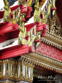 Temples at Wat Pho - Bangkok Thailand - by Anika Mikkelson - Miss Maps
