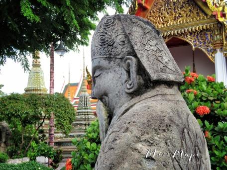 Wat Pho - Bangkok Thailand - by Anika Mikkelson - Miss Maps - www.MissMaps.com