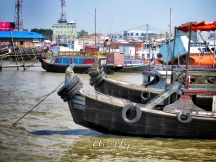 Boats of Mongla Bangladesh - by Anika Mikkelson - Miss Maps - www.MissMaps.com