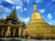 Golden Pagoda of Bago Myanmar - October 2016
