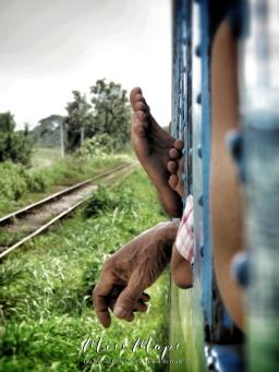 Train to Bago Myanmar - October 2016