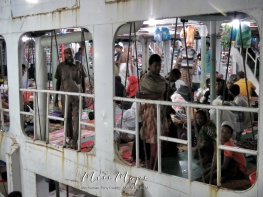 Ready to Ride the Boat from Dhaka to Sundarbans Bangladesh - by Anika Mikkelson - Miss Maps - www.MissMaps.com